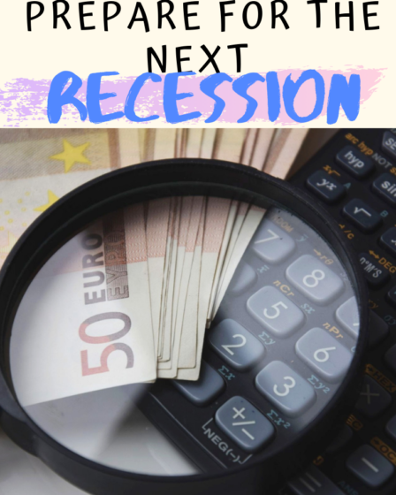 How to prepare for the next recession (1)